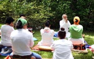Retiro de Silencio, CasaCuatroRumbos 22, julio 2014