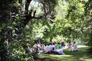 Retiro de Silencio, CasaCuatroRumbos 33, julio 2014