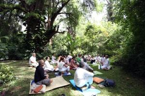 Retiro de Silencio, CasaCuatroRumbos 38, julio 2014