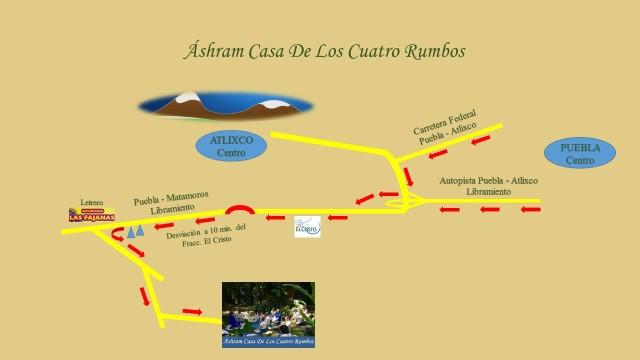 Mapa Ashram Casa de los Cuatro Rumbos ok
