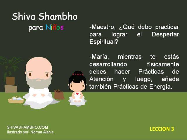 A Shiva Shambho Niños 3