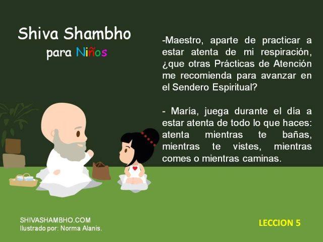 A Shiva Shambho Niños 5